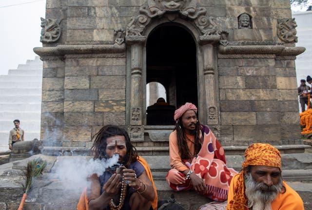 Maha Shivaratri - Sadhus and Cannabis